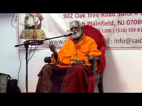 Courtallam Swamiji Discourse on Siva Puranam Saidatta 102614 pravachanam Part 3