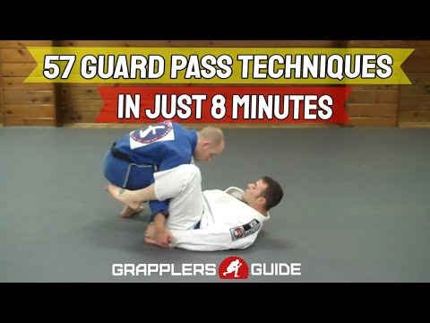 57 BJJ Guard Passing Techniques in Just 8 Minutes - Jason Scully Image 1