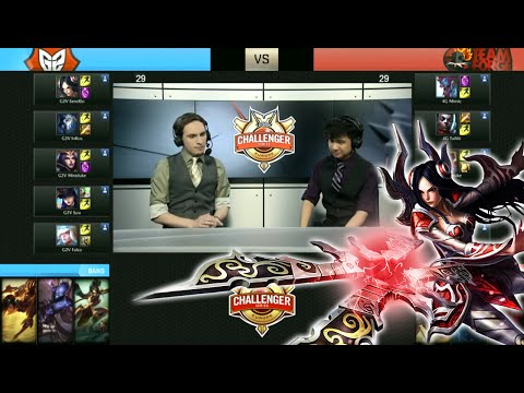 G2 Vodafone vs Team Forge | Day 5 Group Stage 2016 EUCS Summer Qualifiers | G2V vs 4G