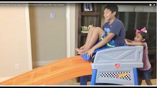 Mermaid & Shark Fun Day Step 2 Hot Wheels Extreme Thrill Coaster Ride | Toys Academy