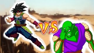 Bardock vs Piccolo (Joint Sprite animation ft Hyozen and IsaacXbode)