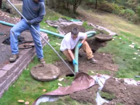 How to perform a septic system pump out