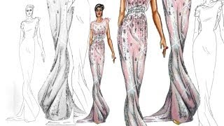 Fashion Design Tutorial On the Runway Catwalk pose
