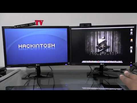 Hackintosh Dual Monitor Setup