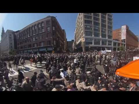 Virtual Reality Video: Arrests Made At The RNC