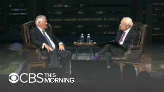"""Rex Tillerson opens up on Trump and his firing: """"We did not have a common value system"""""""
