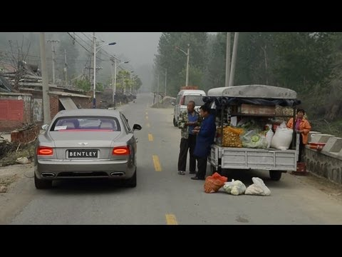 China Special: Bentley Flying Spur, Supercars, and Cool Cars Town - /DRIVEN