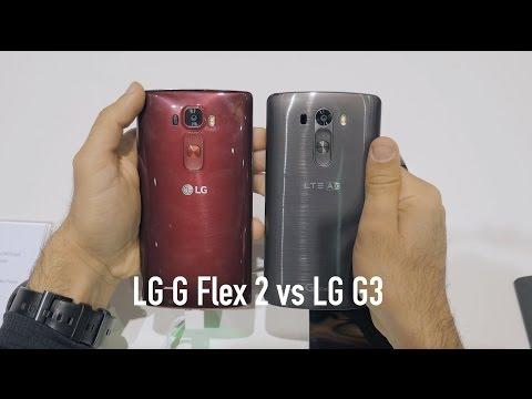 LG G Flex 2 vs LG G3 Quick Comparison