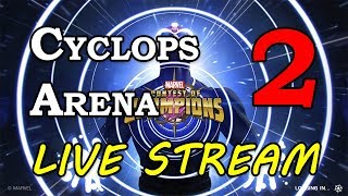 Cyclops Arena - Part 2 | Marvel Contest of Champions Live Stream