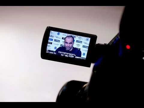 Roberto Martinez's pre-Man United press conference