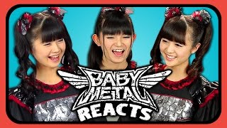 Download Lagu BABYMETAL REACTS TO YOUTUBERS REACT TO BABYMETAL Gratis STAFABAND