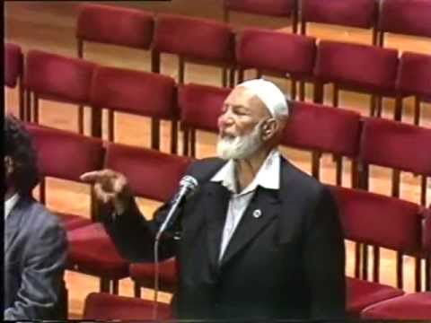 Jesus And Muhammed: A Comparitive Study - Sheikh Ahmed Deedat video