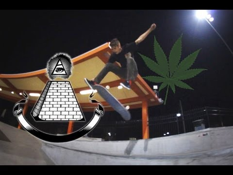 Crazy Lines + Skateboard Illuminati Exists!