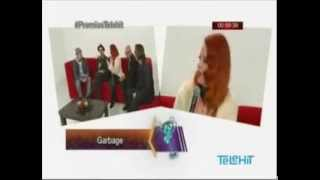 Garbage Telehit Mexico 13-11-2013 Pre-Show Interviews part 1