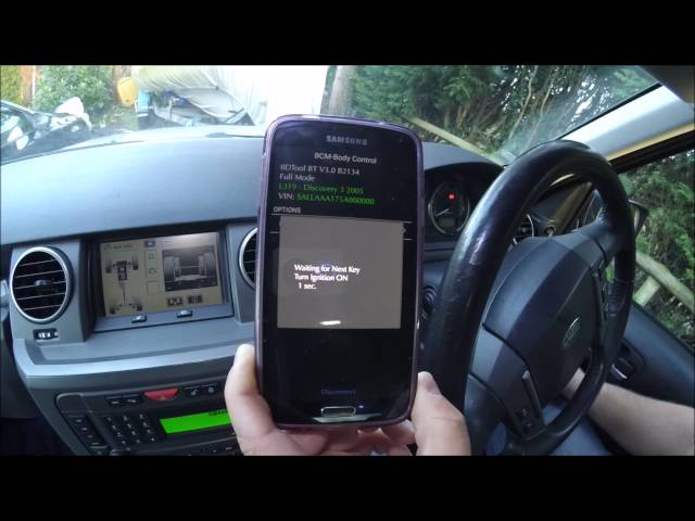 Land Rover Discovery 3 (LR3) Key Programming with the IID ...