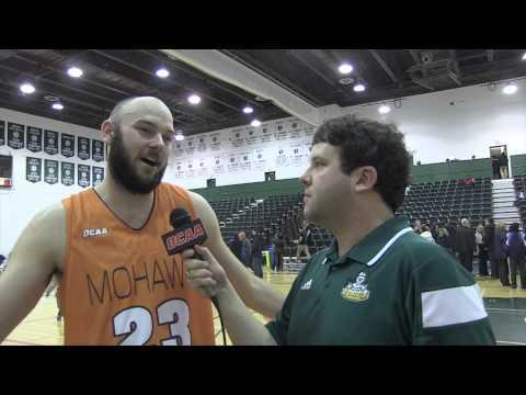 OCAA Men's Basketball Championship - Post-Game Interview - Jeff Hunt (Mohawk) & Jaz Bains (SLC)