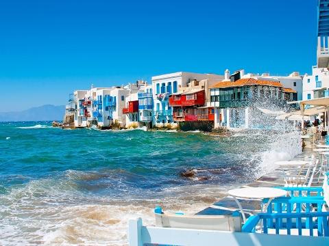 السياحة المذهلة | تغطية الأخ جزيرة ميكونوس باليونان | Mykonos Island Greece