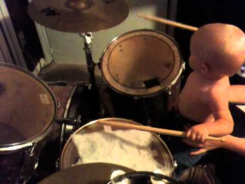 Roman Playing the Drums