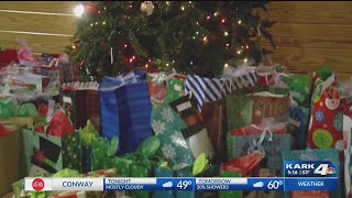 Christmas Gifts for 120 Children Provided by Little Rock Church