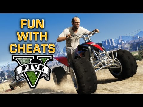 GTA V: Cheat Code Fun