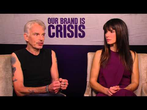 Our Brand is Crisis: Sandra Bullock & Billy Bob Thornton Movie Interview