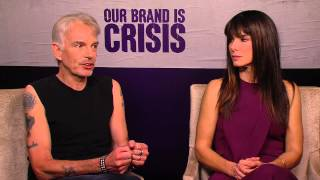 Our Brand is Crisis: Sandra Bullock & Billy Bob Thornton Movie Interview