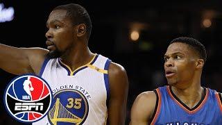 Paul Pierce thinks Kevin Durant might eventually return to Thunder | NBA Countdown | ESPN