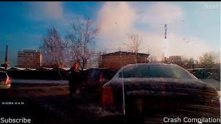 Cars Crash Compilation on the road December #2 720p