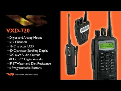 Vertex VXD Digital Two Way Radios