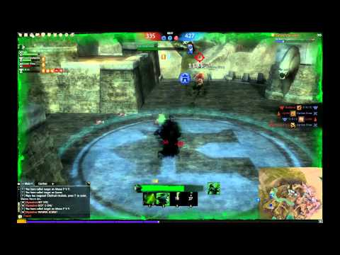 Guild Wars 2 - BWE 2 Necromancer PvP [Power/Staff/Lich] feat. Devourerofmemes