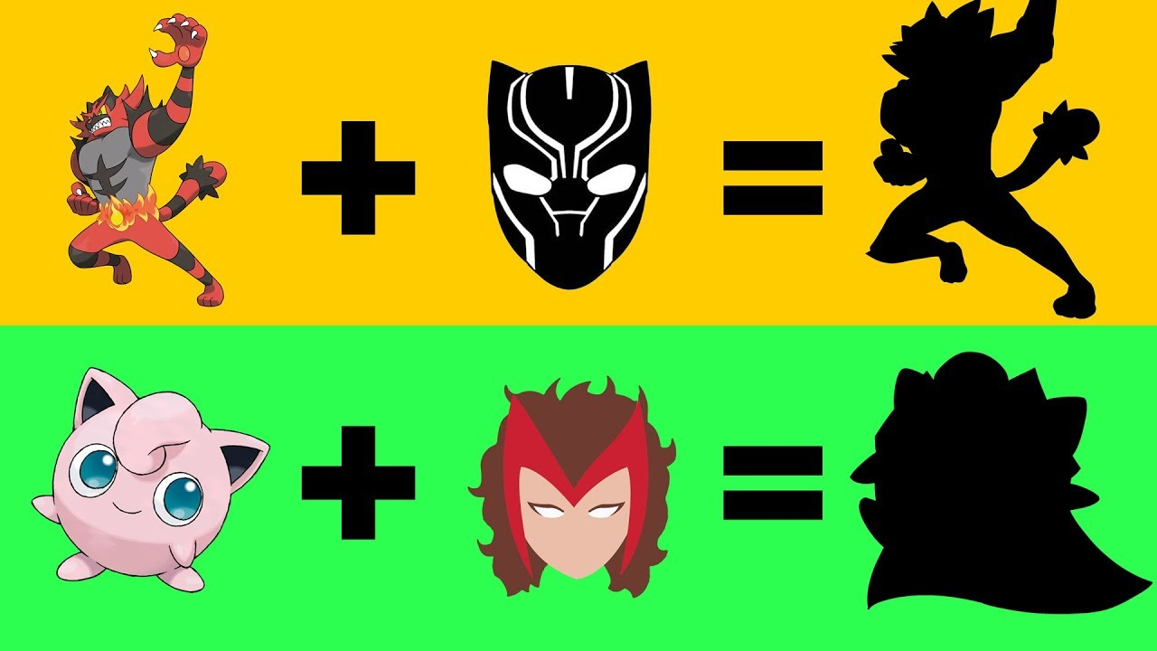Pokemon As Avengers 5 Jigglypuff As Scarlet Witch Incineroar As