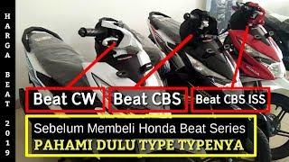 Honda Beat 2019 Terbaru | Pebedaan Beat CBS ISS Beat CBS dan Beat CW | Honda Beat Indonesia