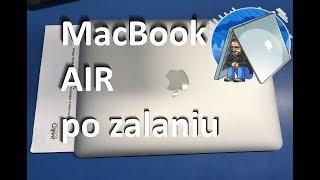 MacBook AIR po zalaniu