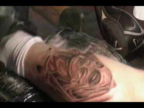Sample Tattoo Tutorial Clip - Portrait
