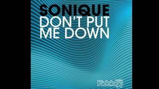 Sonique - Don't Put Me Down (Paul Morrell Radio Edit)