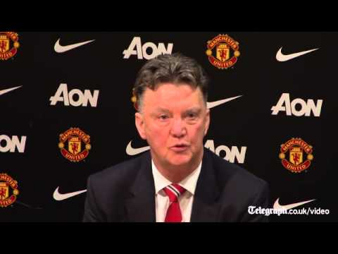 Van Gaal: You've been waiting to tell me I have same points as Moyes