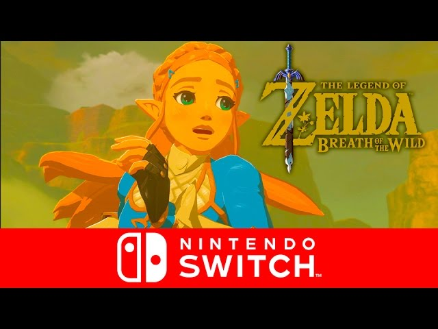 The Legend of Zelda: Breath of the Wild - OFFICIAL English Release Date Trailer