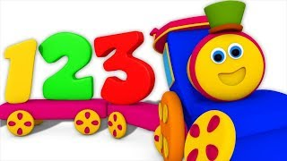 Numbers Train   Learning Videos For Children   Bob The Train Cartoons