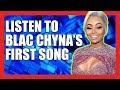 """Blac Chyna Releases First Rap Song """"Deserve"""""""