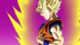 Goku Turns Ssj 3 For Beerus English Dub