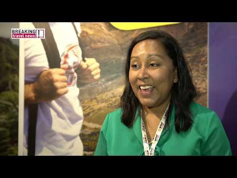 Helena Bennett, director of tourism, St Helena