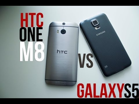 Samsung Galaxy S5 vs HTC One (M8) Hands On Comparison