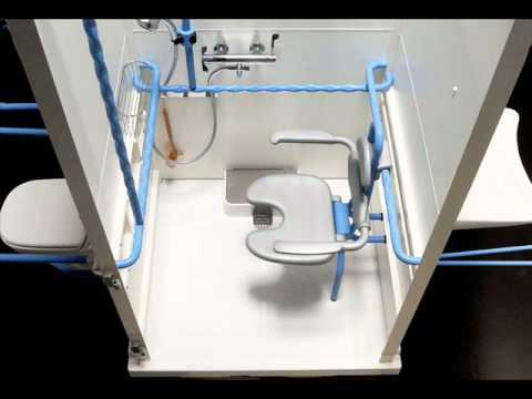 axeo l 39 unique cabine de douche sans travaux accessible et rassurante youtube. Black Bedroom Furniture Sets. Home Design Ideas
