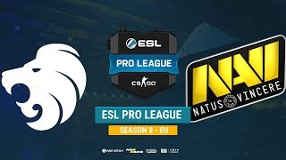 North vs Na`Vi - ESL Pro League S8 EU - bo1 - de_dust2 [CrystalMay, Smile]