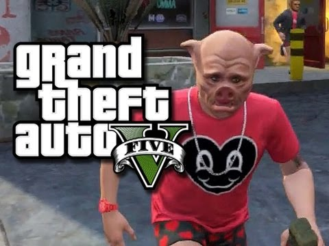 GTA 5 Online Funny Moments! - Bounties, Crazy Paramedics, and More! (GTA V Funny Moments!)