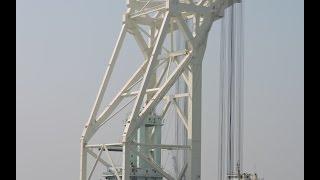 Padma Bridge ( ৩৬০০ টন ক্রেন এখন মাওয়া ) পদ্মা সেতুর কাজের গতি এখন ১০০%