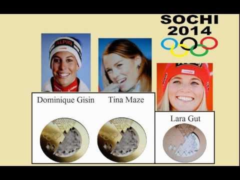 Gold für Tina Maze und Dominique Gisin