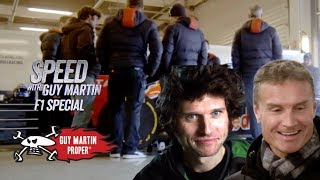 Guy Meets F1 Legend David Coulthard - EXCLUSIVE CLIP | Guy Martin Proper