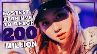 [TOP 22] Fastest K-POP Videos to reach 200M Views • April 2018