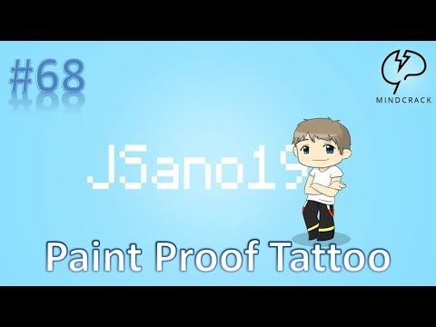 Minecraft - Mindcrack - Let's Play - S4E68 - Paint Proof Tattoo